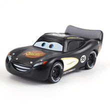 Cars Disney Pixar Cars Black Radiator Springs McQueen Metal Diecast Toy Car 1:55 Loose Brand New In Stock car2 & car3(China)