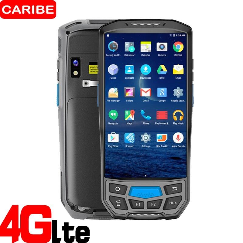 Caribe PL-50L быстрое сканирование промышленных 2d лазерный планшетный сканер штрих кода для инвентаризации обнаружения android КПК вариант UHF rfid