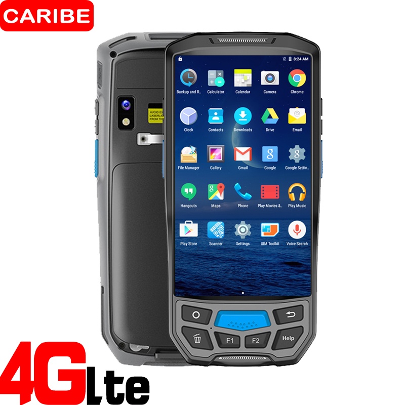 Caribe Pl-50L Quick Scan Industrial 2D Laser Flatbed Barcode Scanner For Stock Detection Android Pda Possibility Uhf Rfid