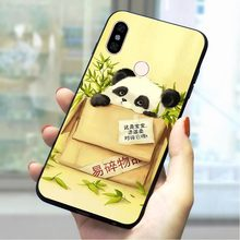 Panda Bear Soft TPU Case for Xiaomi Redmi 5A Slim Phone Cover for MI 6A Plus 7 Go Pro Prime A1 A2 Note 8 Lite 9 se 4 X Backshell(China)