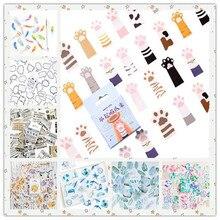 45pcs/pack Cute Kawaii Decorative Paper Stickers DIY Diary Notebook Decoration Stickers Scrapbooking Gift 23 Styles Can Choose тумба витрина skyland born b 410 5