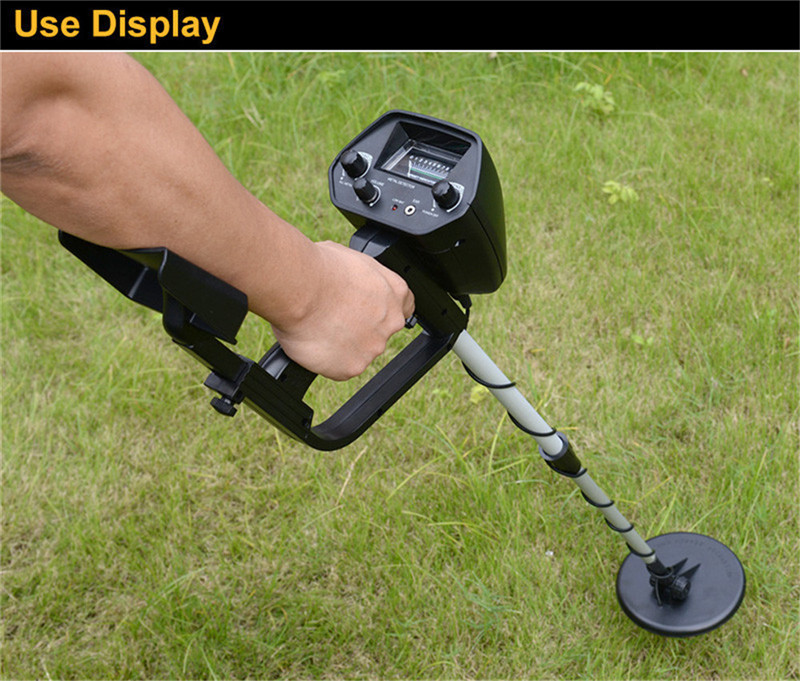 Portable Light weight Underground Metal Detector Length Adjustable Gold Treasure Metal Finder Hunter Under Shallow Water MD4030 professional deep search metal detector goldfinder underground gold high sensitivity and lcd display metal detector finder