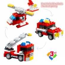 DECOOL Mini 3 в 1 Speeder Building Blocks Sets Bricks Kids Model Kids City Creator Toys Marvel Совместимость Legoings Duplos Car