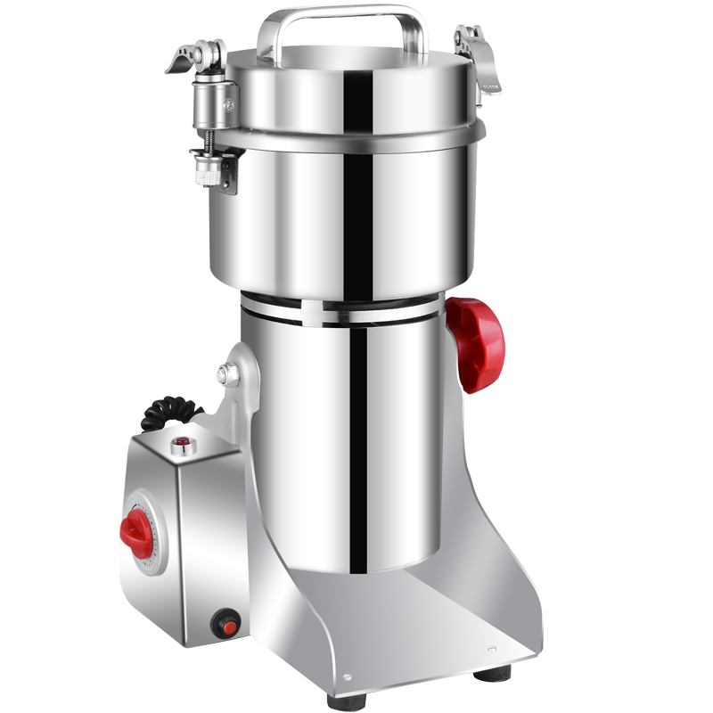 Coffee Grinders Chinese medicinal material crusher grain flour mill. The machine is used to break the machine.