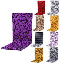 Nice Quality Printed Elastic Home Chair Cover Thickening Dining Chair Elastic Chair Cover Office Computer Housse Chaise