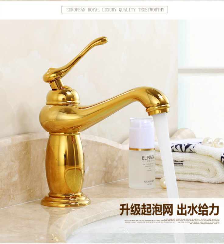 High quality Brass antique Bronze Tap cold hot water Kitchen sink Faucet