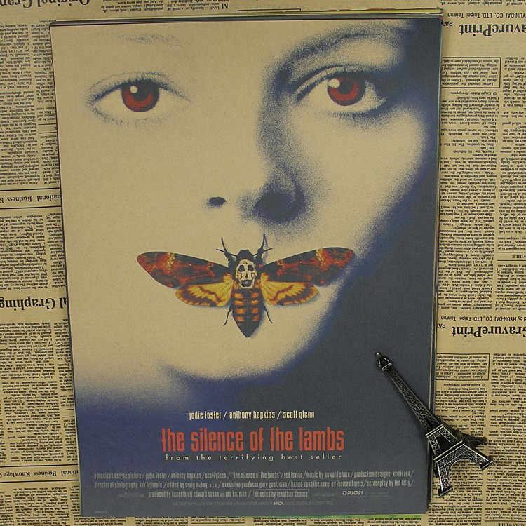 Тишина ягненка Джоди Фостер классический постер фильма кофе бар крафт украшения спальни
