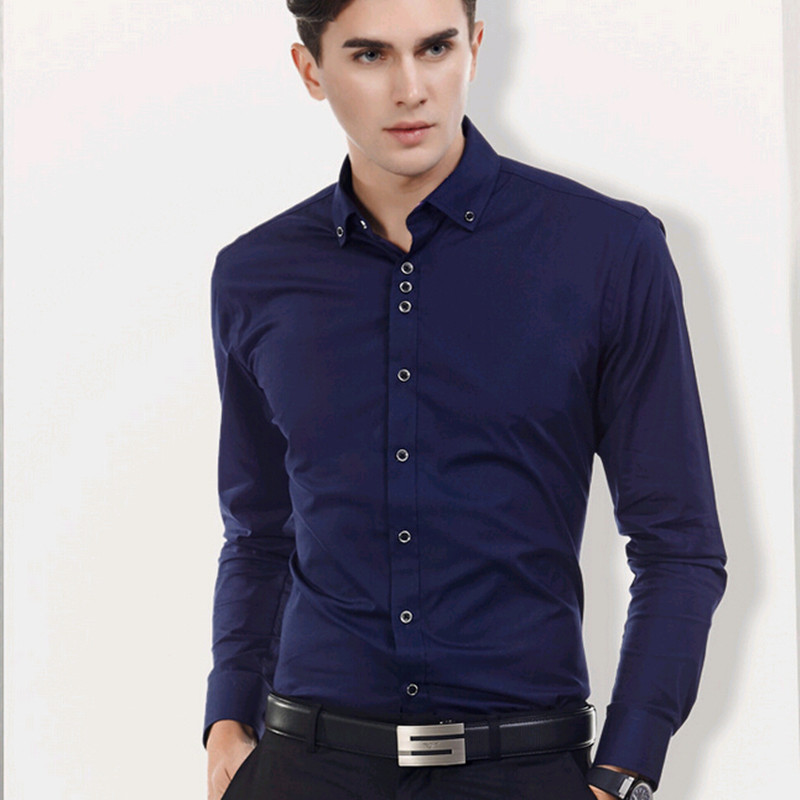 buy the spring and autumn new men long