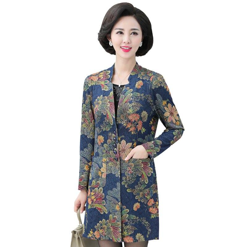 Automne femme élégant 2 pièces Blouses vert rouge fleur Twinset hauts femmes affaires tunique décontractée Style chinois Blouse 2 pcs haut XL