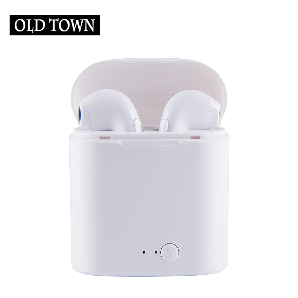 Bluetooth Headphones I7 TWS Waterproof Wireless Headphone Sports Bass Bluetooth Earphone with Mic for Phone IPhone Xiaomi Sony ...