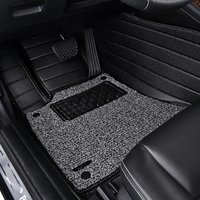 Leather Wire Car Floor Mat For Cadillac ATS L XTS CTS CT6 SRX XT5 Escalade Coupe
