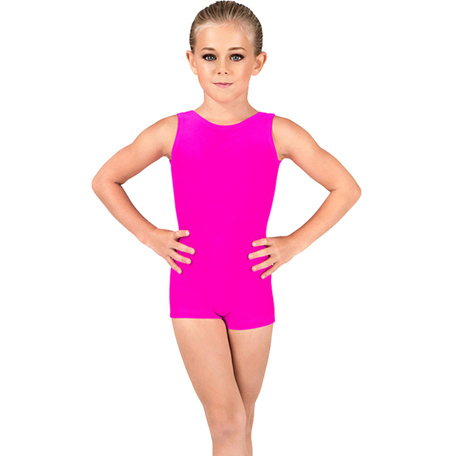 60cc23fd2 Toddler Leotards Bodysuit Ballet Dance Clothes Warmup Sleeveless ...