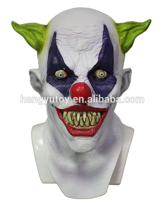 Party De Latex Masque Effrayant Clown Halloween Cosplay Drôle 4pHwxqddS