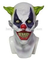 Halloween Party Cosplay Lustige Latex Scary Clown Maske Narr Joker Gesicht Maske Kostüm Kleid
