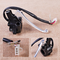 Plastic & Aluminum Throttle Housing Right Switch Lever ON/OFF Control Assembly fit for Yamaha PY50 PW50 Peewee PY50 G50T