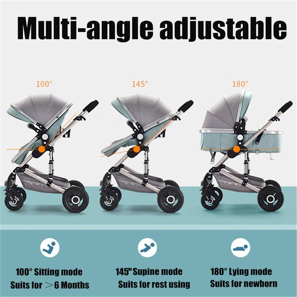 Lekki wózek dla dziecka samolot przenośny ponad milion osób powiedziało w zeszłym miesiącu, że z wysokim widokiem cztery koła Troller przewozu stalowa rama wózek wózek dziecięcy