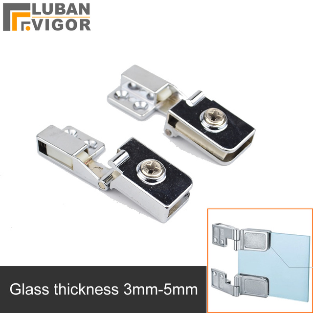 For Glass Thickness 3 5mm,glass Door Hinge/clamp/clips,Zinc