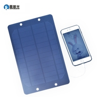 Xinpuguang 6W 6V Solar Panel Mono Cell Bracket Portable Charger for USB 5V 1A Output Mobile Phone Power Bank Outdoor Charge
