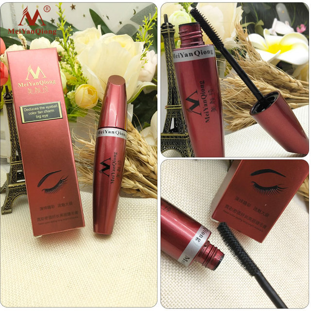Makeup Eye Mascara Lengthening Nutritious Moisturizing Easy to Dry Natural Curling Thick Waterproof Sweat-proof Eyelash Care 4