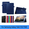 Lichee leather BOOK Cover capa para for Samsung GALAXY Tab E T560 T561 9.6 inch tablets & Books case