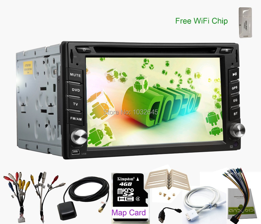 Double Two 2din android Radio Car touch screen 5.1system Universal+Radio+Stereo+Audio+GPS Navi Navigation+Car Pc+Head Unit