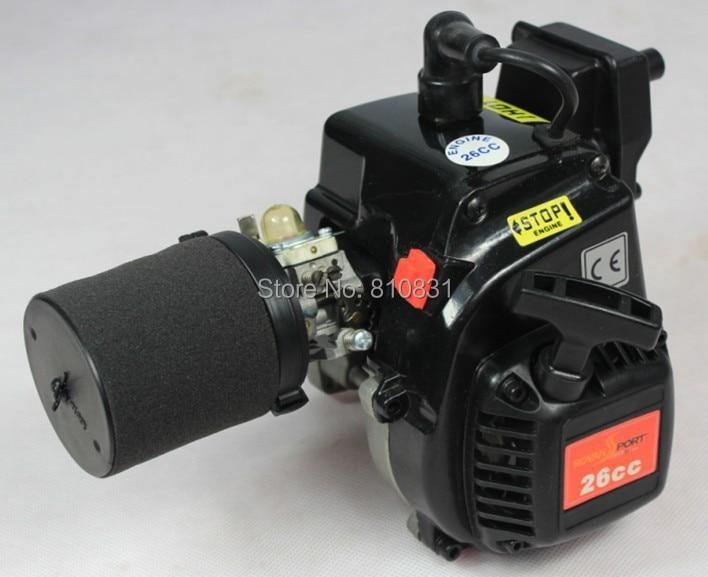 baja 26CC 2T 2-stroke gasoline engine for hpi baja Rovan km rovan baja 5fc racing 2wd 26cc engine walbro668 ngk