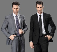 Jackets Pants 2014 New American Style Men S Slim Fit Long Sleeve Business Suits Wedding