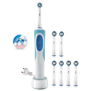 Image 1 - Brosse à dents électrique Rechargeable, brosse à dents sonique ultra, pour enfants et adultes, compatible avec Oral b