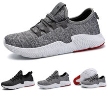 789bf2e3e778 2018 Men Sneaker Running Shoes Lightweight Sneakers Breathable Mesh Sports  Shoes Jogging Footwear Walking Athletics Shoes