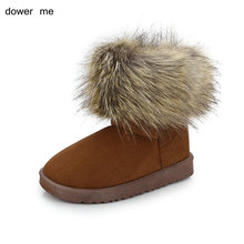 dower me 2017 winter fashion ladies' snow boots warm shoes home shoes female boots women's shoes low price promotion size 36-41