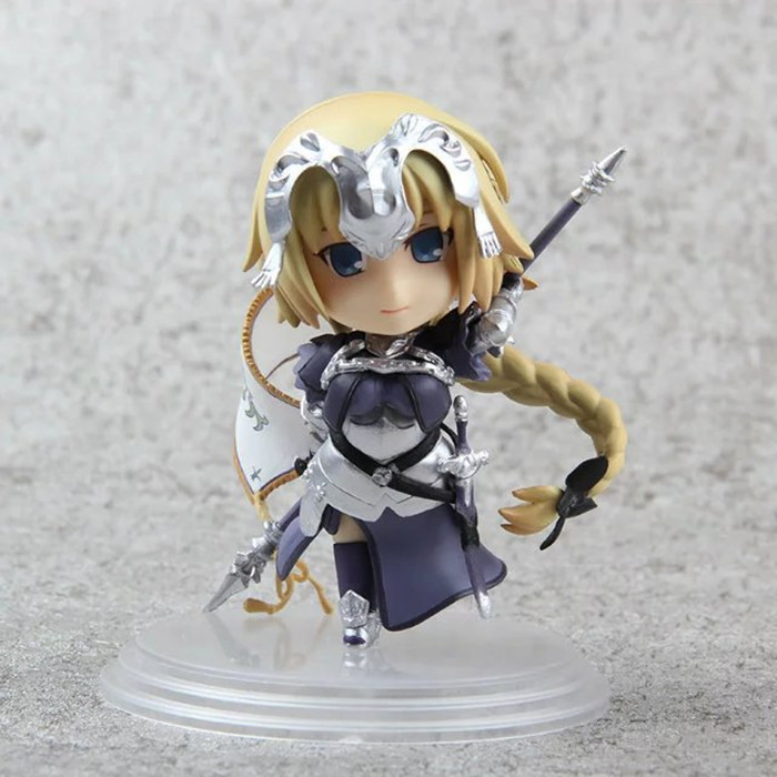 Fate/Stay Night Action Figures Saber Nendoroid Ruler PVC 100mm Fate Grand Order Anime Model Toys Fate Stay Night KB0766 1