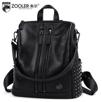 2017 New Listed Fashion Women Leather Backpack Genuine Leather Bag Versatile Top Quality Backpacks Elegant For