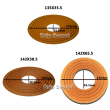 2 قطعة 135X35.5/142X38.5/142X65.5 مللي متر مرونة موجة مكبر الصوت مضخم صوت مكبر الصوت الجهير رئيس إصلاح العنكبوت المثبط