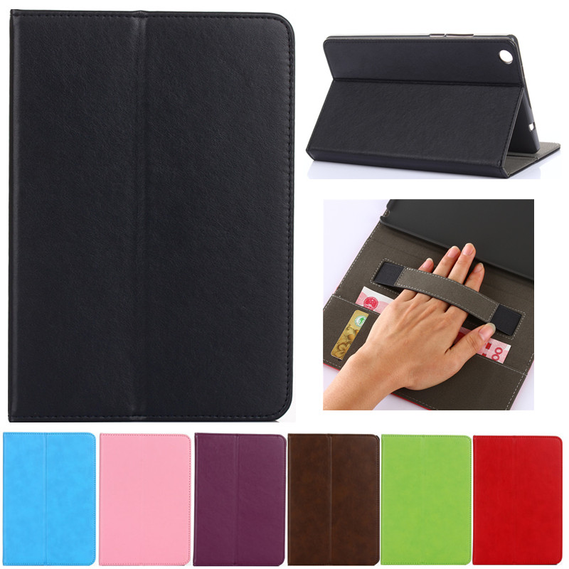 Fashion Luxury Tablet case Cover For Lenovo Tab3 8.0 TB3-850F 850M 8inch PU Leather Flip Case Wallet Stand Cover With Holder