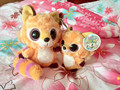 One Pair for sale!2014 Korean New Free shipping Baby Toy Yoohoo&Friends Big Eyes Cute plush Iberian lynx toy - Libby, Lenny