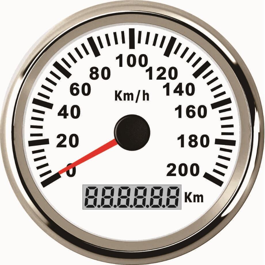 1 stk 85mm autotuning målere sort GPS hastighedsmålere Ratemetre - Bilreservedele - Foto 6
