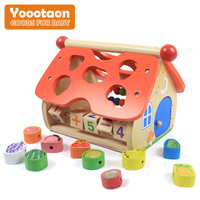 Kids Wood House Toys