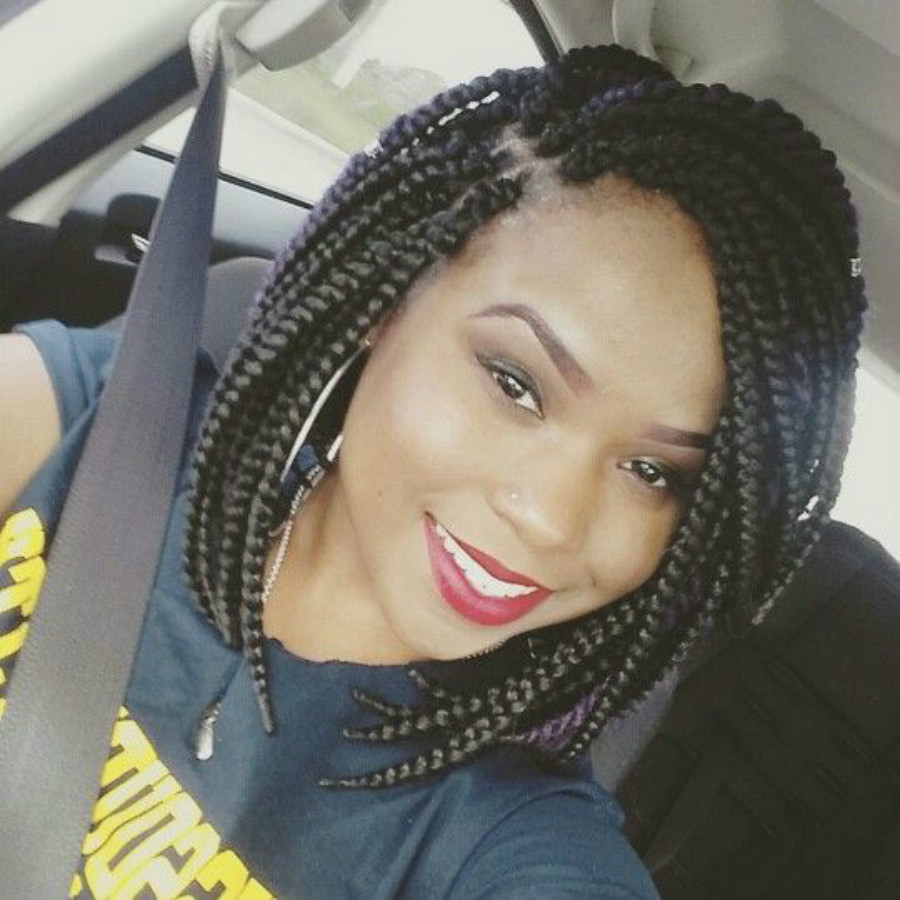 12 Box Braids Hair 75g/pack 3S Freetress Crochet Box Braid Syntheti...