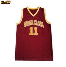 7d165cb2b Uncle GG Steve Nash Jersey #11 College Santa Clara Retro Throwback Stitched  Cheap Basketball Jersey