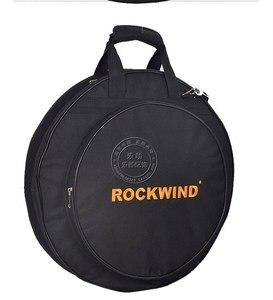 """Image 4 - プロフェッショナルポータブル肩バックパックは負荷 4 個 20 """"デラックスシンバルバッグキャリングケースドラムシンバル楽器ギグ黒"""