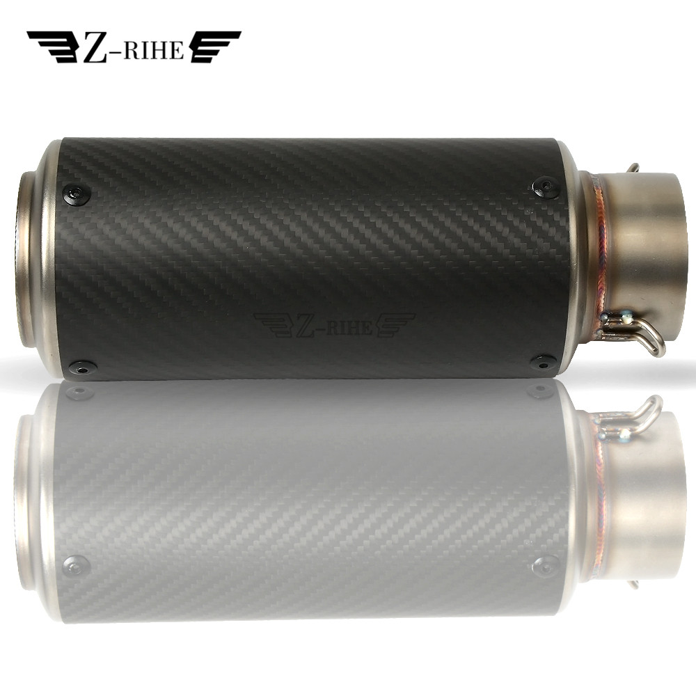 Universal Motorcycle Exhaust Pipe Muffler For Honda CRF450 CRF250 MSX 125 CB1100 CB1300 CB1100SF X11 Africa Twin XADV750 new crf250 crf450 after motocross fender masonry for honda