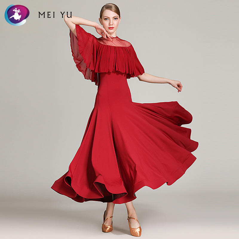 Stage & Dance Wear Responsible 2018 New 1860 Modern Dance Costume Women Lady Adult Waltzing Tango Ballroom Dance Competition Costume Dress Evening Party Dress Ballroom