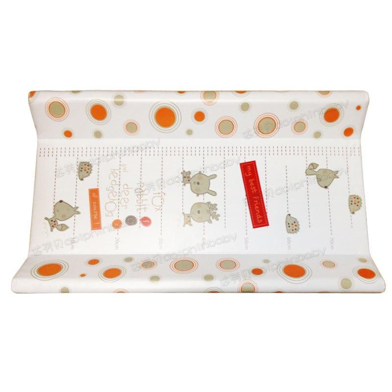 Matelas à langer en coton épais pour bébés couches lavables en tissu pour nouveau-nés