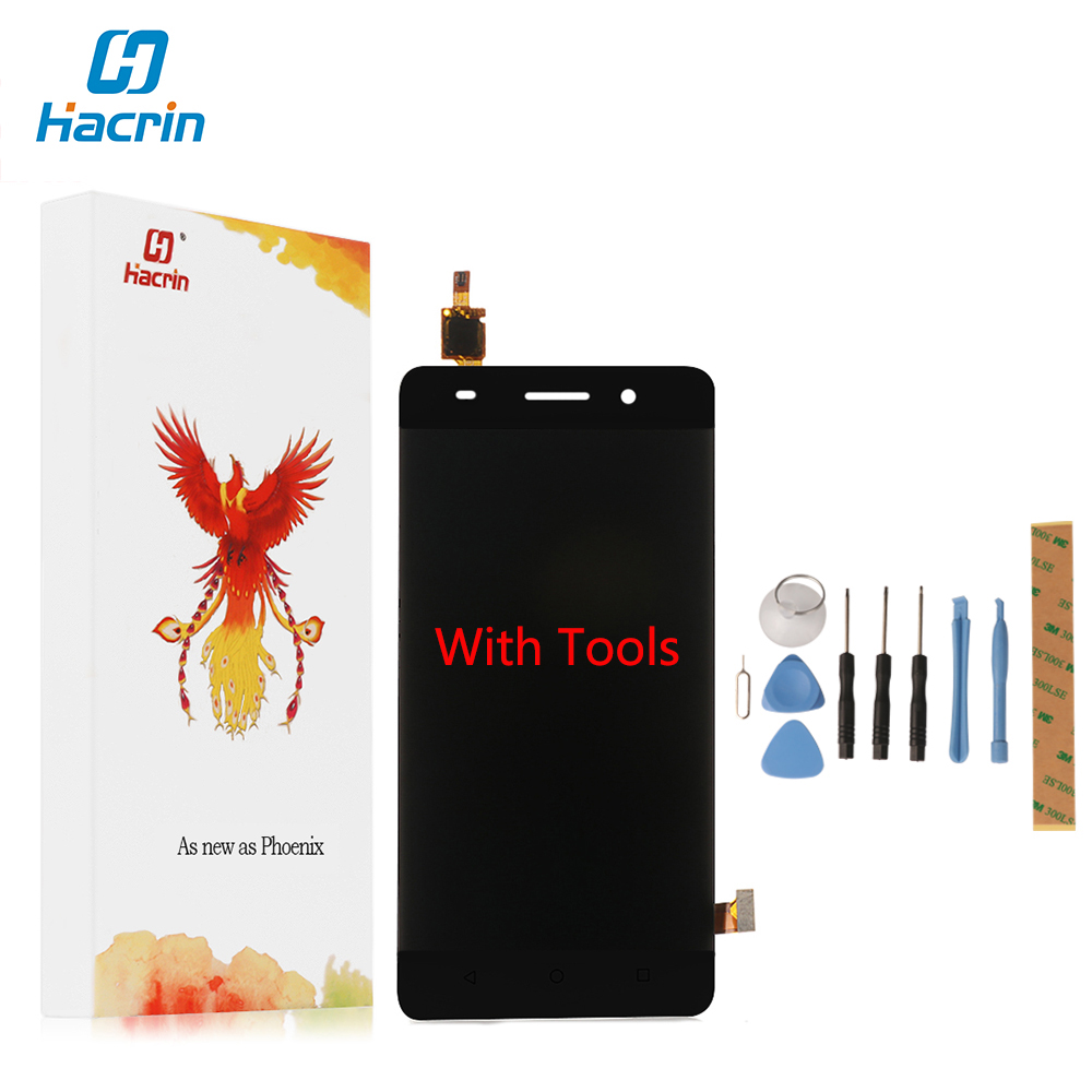 Hacrin For Huawei honor 4C LCD Display Touch Screen Digitizer 100 New Glass Touch Panel For