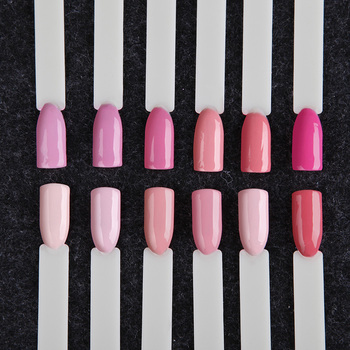 12PCS/LOT ROSALIND 7ML Gel Nail Polish Set Pure Color Series Semi Permanent Acrylic Nail Kit Need Base Top Coat Set For Manicure 2