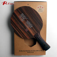 Palio official Cham Lu table tennis blade zhanlu ply 5 Ebony 5 with high strength fast attack with loop racquet sports