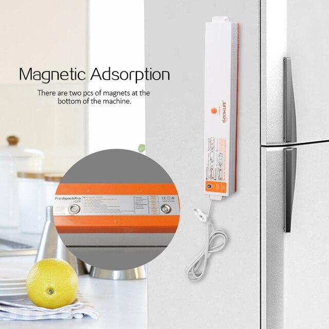 TINTON LIFE Vacuum Food Sealer With 5 Rolls Vacuum Sealer Bag(12X500cm,15X500cm,20X500cm,25X500cm,28X500cm) Vacuum Food Sealers