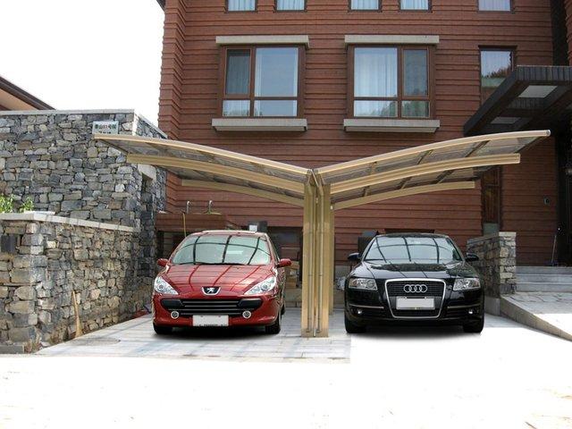 Garde Aluminum carport with polybonate sheet roof car shelter UV car shade car canopy car shelter  sc 1 st  AliExpress.com & Garde Aluminum carport with polybonate sheet roof car shelter UV ...