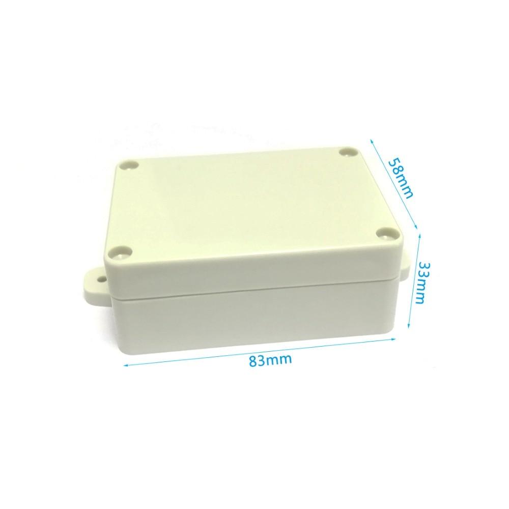1 PC 100x68x50mm Enclosure Waterproof Box Electronics Junction Case