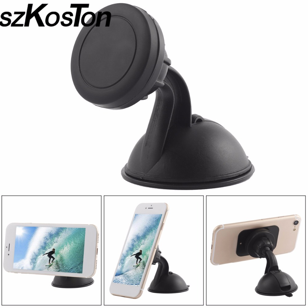 Mini Magnetic Mobile Phone Holder Car Dashboard Bracket Cell Phone Holder Stand For iPhone 7 Magnet Mount Holder